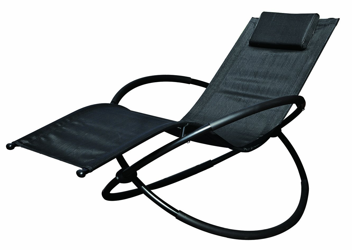 Garden kraft 19180 Benross Louis moon Rocker Lounger Garden Chair