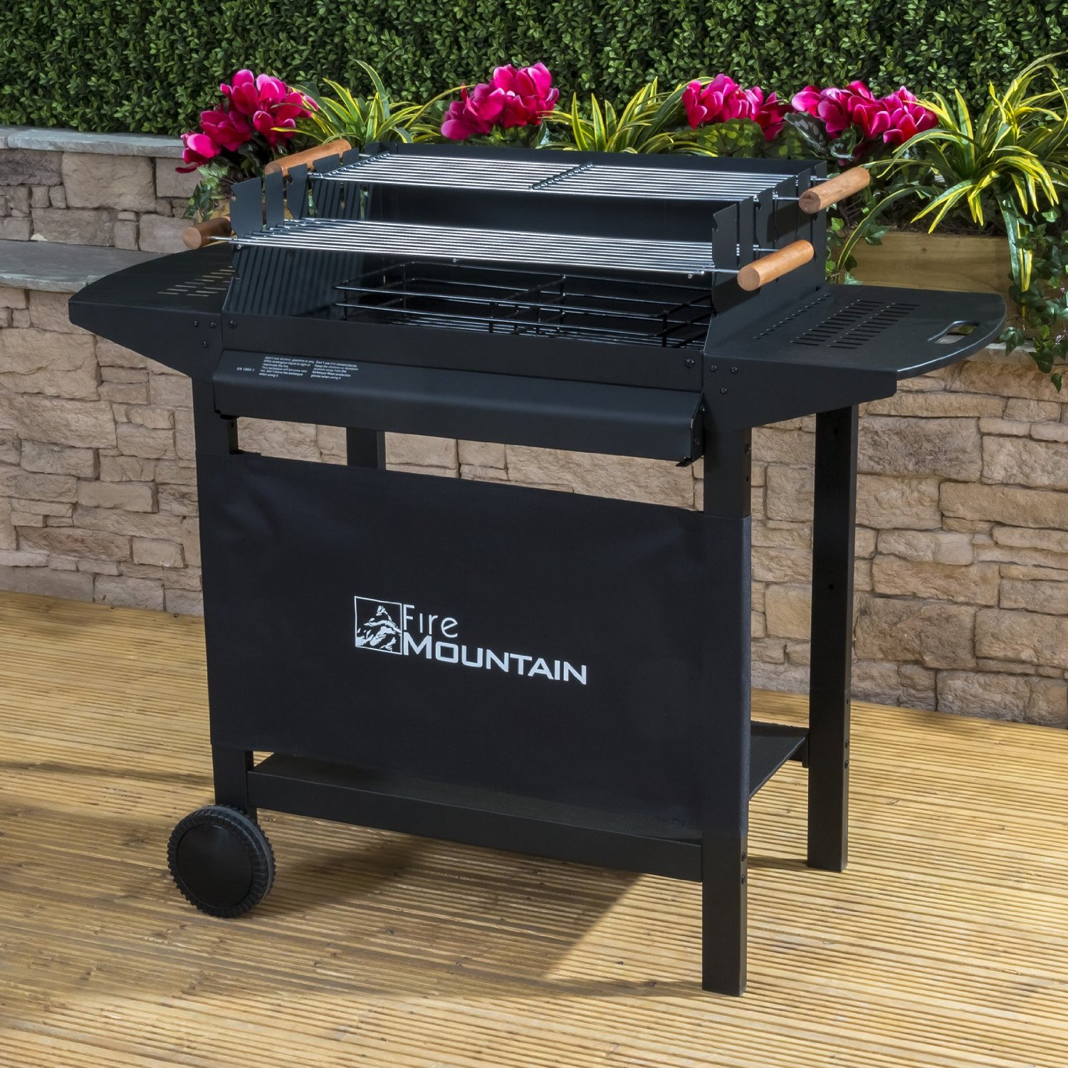 Deluxe Charcoal Barbecue