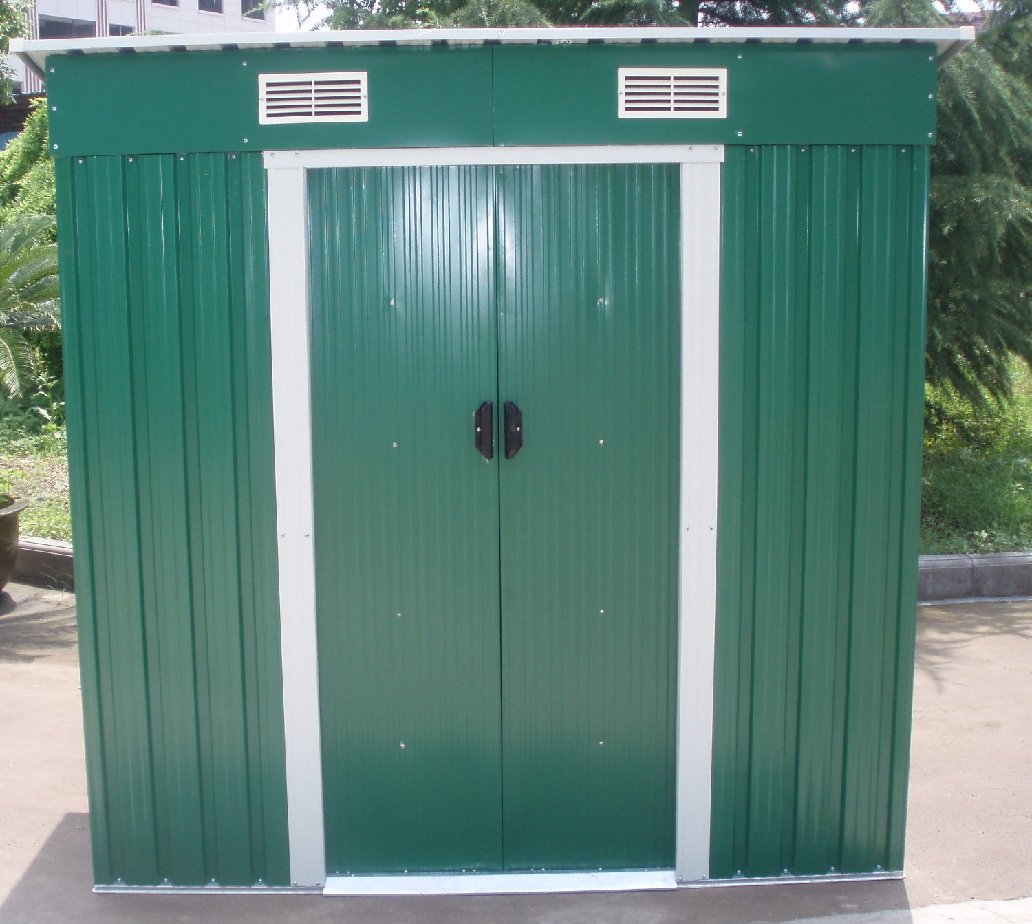 Dirty Pro ToolsTM NEW METAL GARDEN SHED 6 X 4
